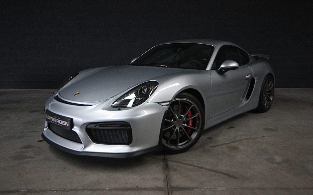 Porsche Cayman GT4 3.8i NIEUW !!! – SLECHTS 285 KM