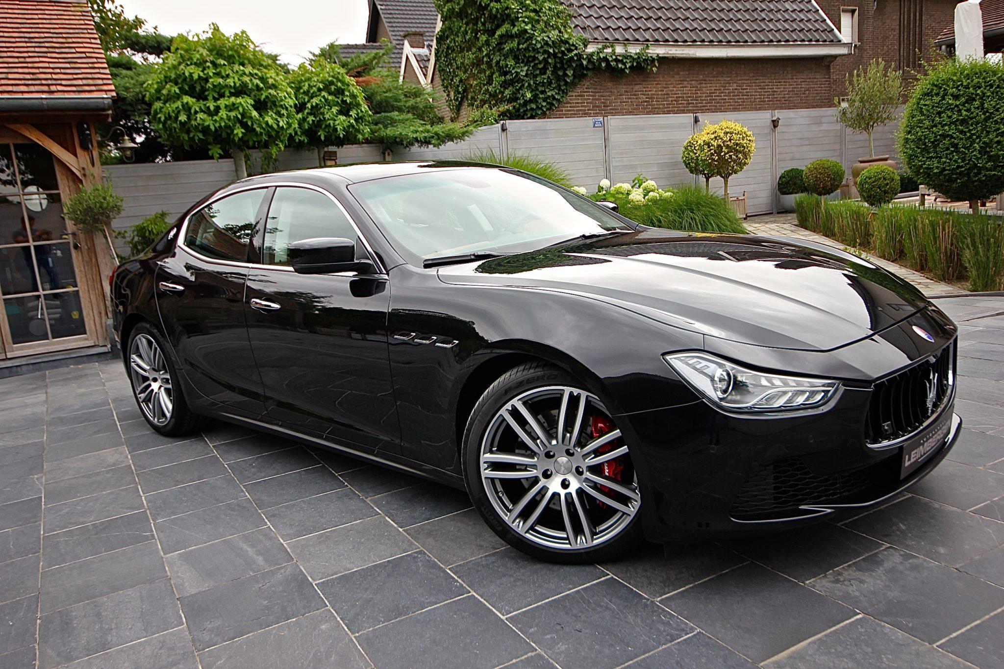 Maserati Ghibli 3.0 V6 Diesel - Autohandel Leimbergen