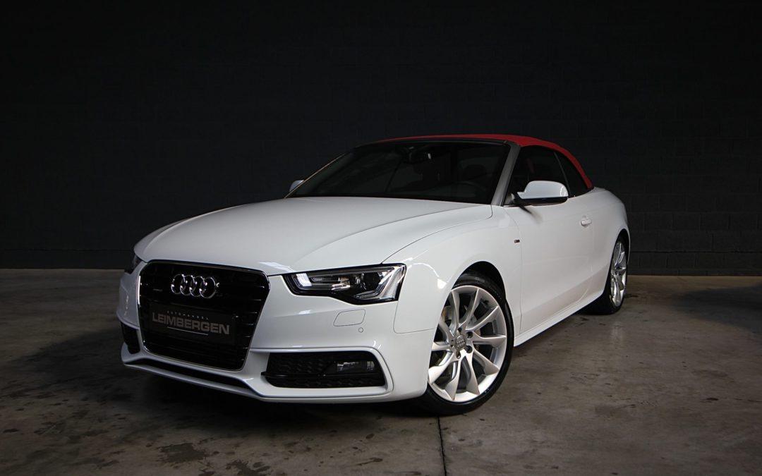 Audi A5 2.0i Cabriolet S-LINE