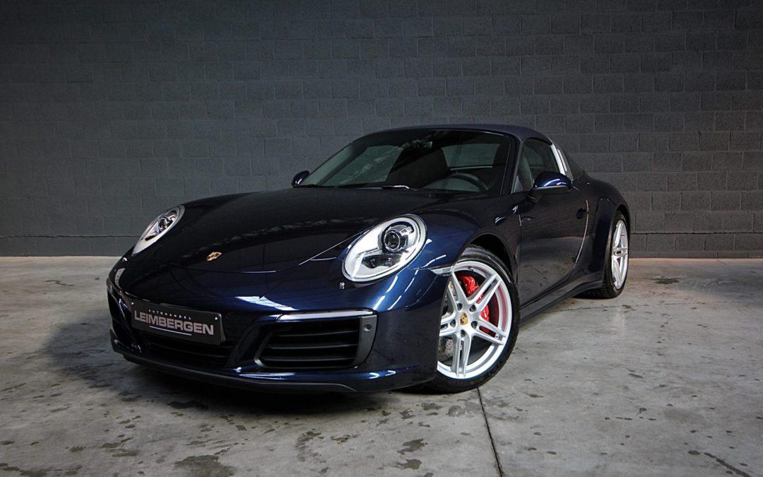 Porsche 911 (type 991) TARGA 4 – SLECHTS 6.350 KM – 1 Ste eigenaar – Belgisch voertuig