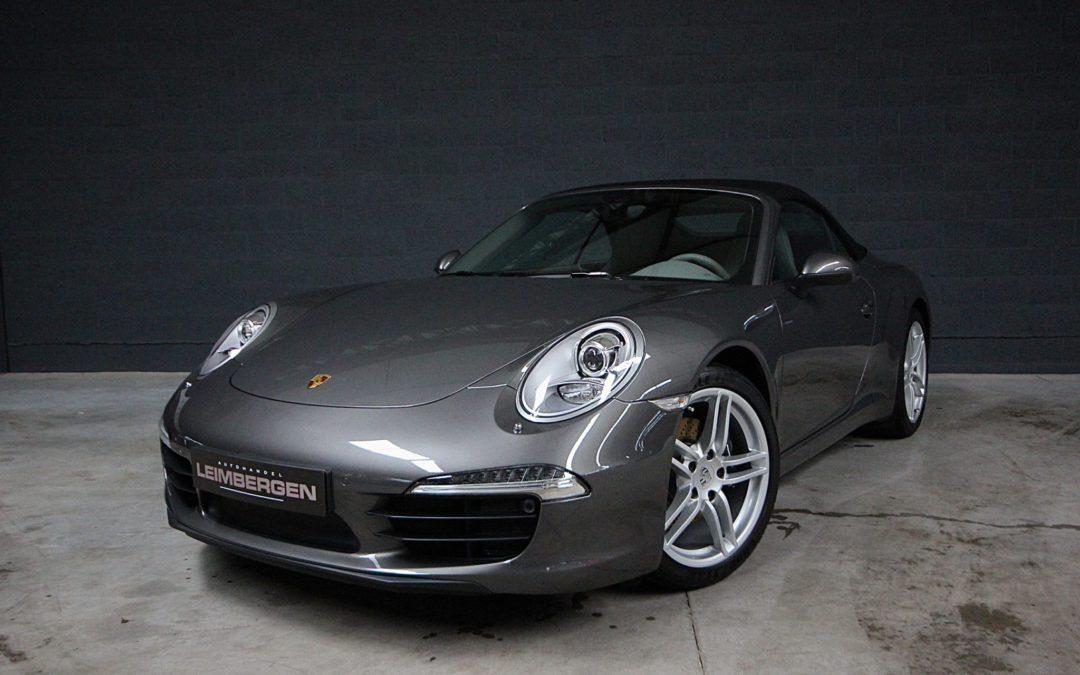 Porsche 911 (type 991) 3.4 Carrera 2 Cabriolet – Slechts 14.850 km !!!