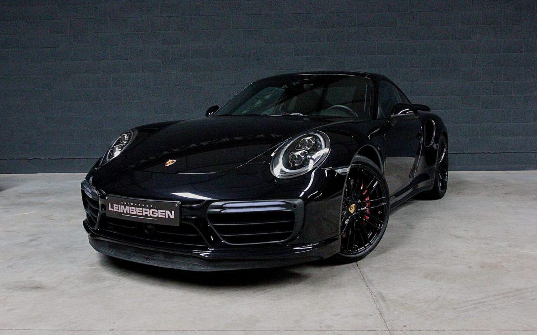 Porsche 911 (type 991) TURBO MK II – 1 Ste eigenaar – Belgisch voertuig – Slechts 7.910 KM !!!