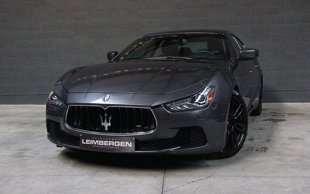 Maserati Ghibli SQ4 3.0 V6