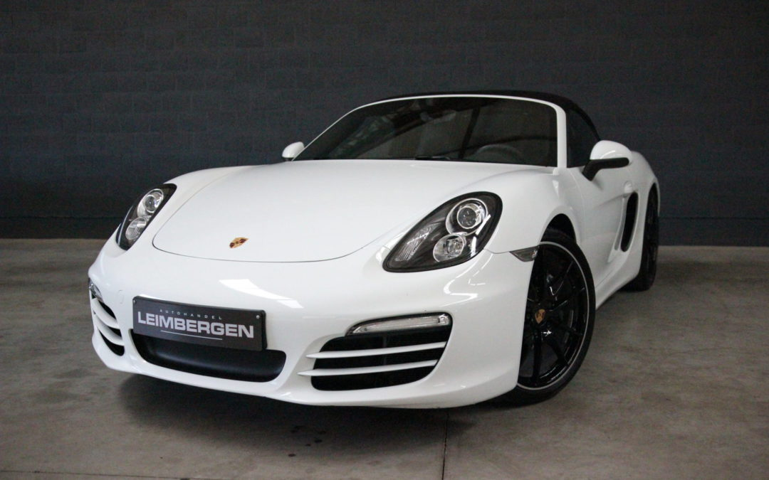 Porsche Boxster 2.7i PDK – Slechts 24.510 km !!!