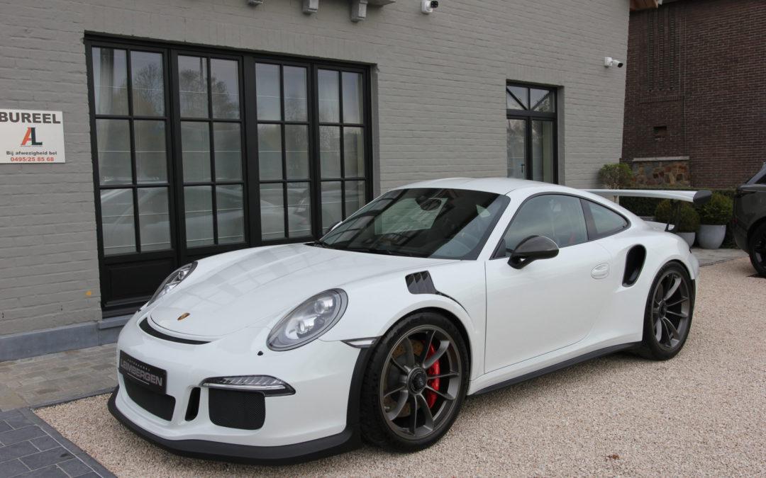 Porsche 911 (Type 991) GT3 RS – SLECHTS 7.450 KM – Belgisch voertuig – 1 Ste eigenaar !!!