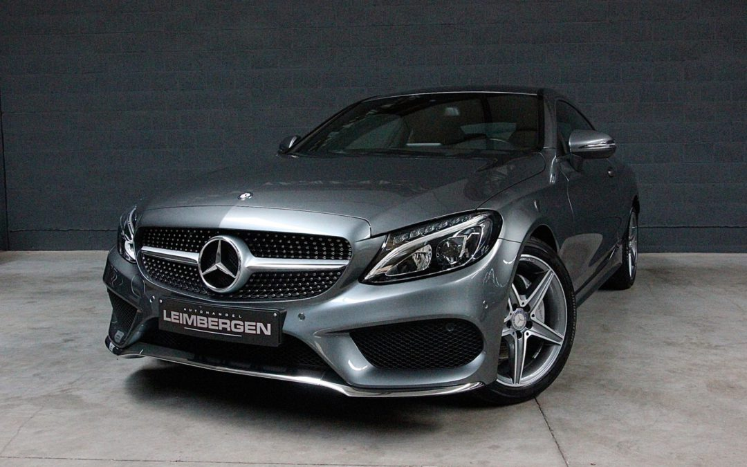 Mercedes C200 Coupé AMG pakket – 1 Ste eigenaar!
