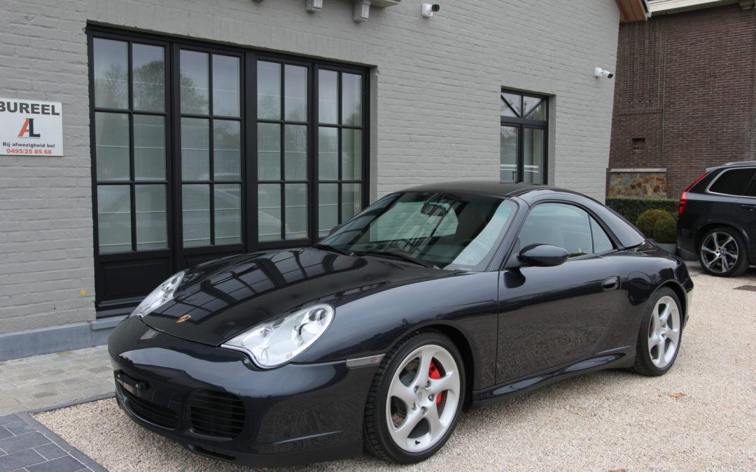 Porsche 996 3.6i 4S Cabriolet/Hardtop – 1ste eigenaar – Slechts 32.525 km !!!