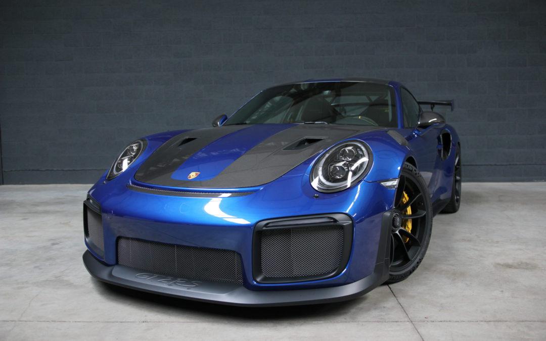 Porsche 991 GT2 RS 3.8 Bi turbo 700 PK – Weissach pakket  – 680 km!