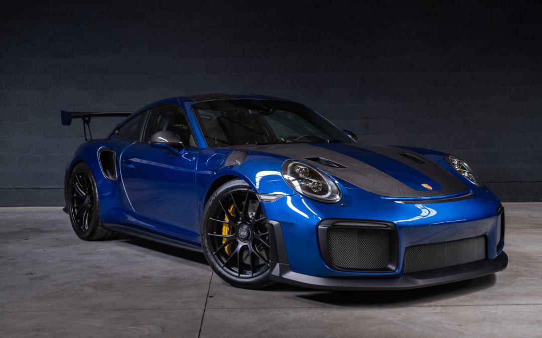 Porsche 991 GT2 RS 3.8 Bi turbo 700 PK – Weissach package  – 780 km!