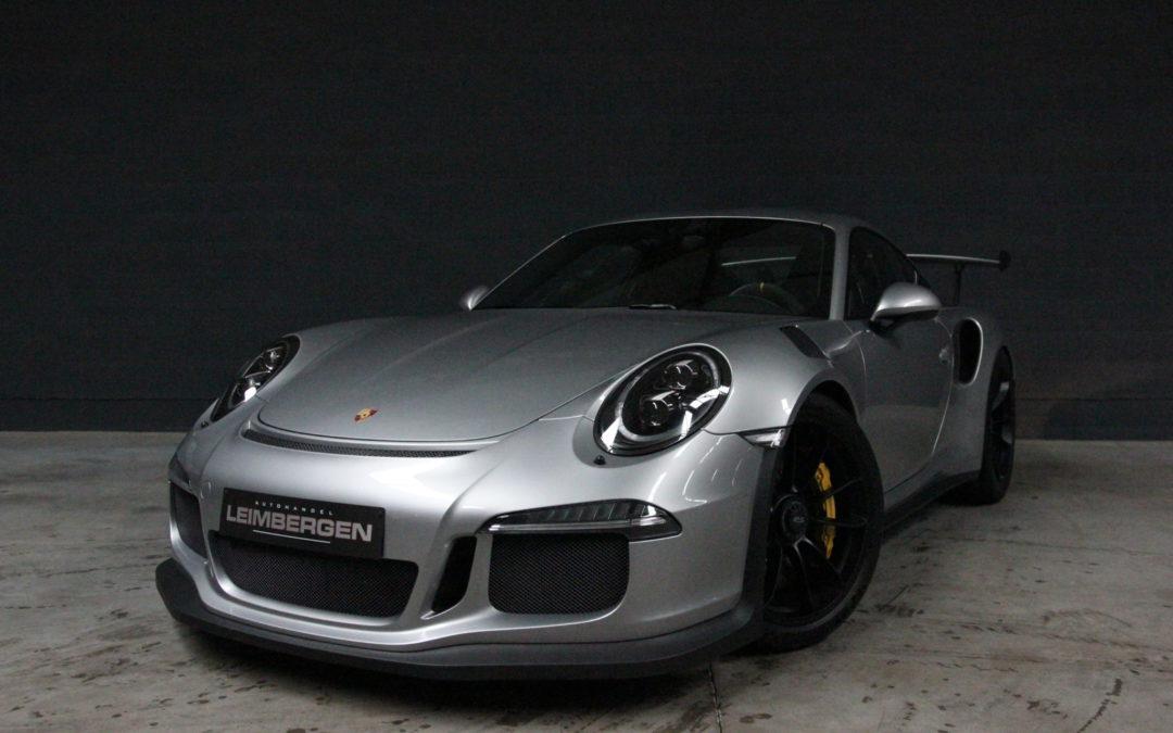 Porsche 911(type 991) GT3 RS – 1 STE EIGENAAR – Slechts 12.734 km – CERAMIC BRAKES