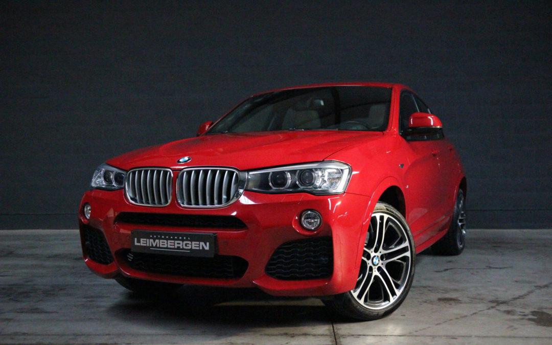 BMW X4 2.0i Automaat X-drive Slechts 26.610 km – M Sportpakket
