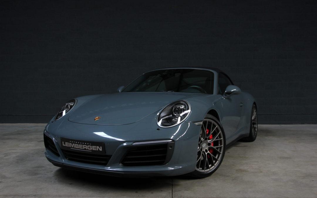 Porsche 911 (type 991) 4S cabriolet – 1 Ste eigenaar!