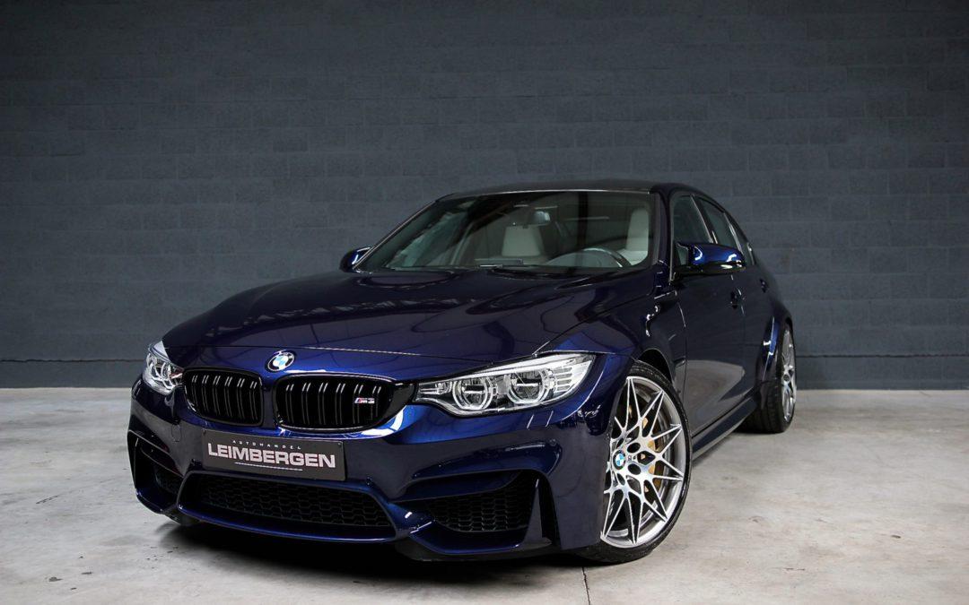 BMW m3  DKG Drivelogic Competition Pack 450 Pk – Ceramic brakes – Performance – 19.810 km !