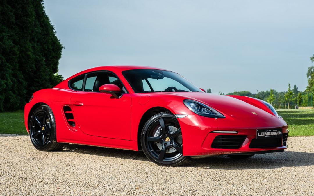 Porsche Cayman 718 2.0 Turbo – Slechts 1.456 km – 1 Ste eigenaar