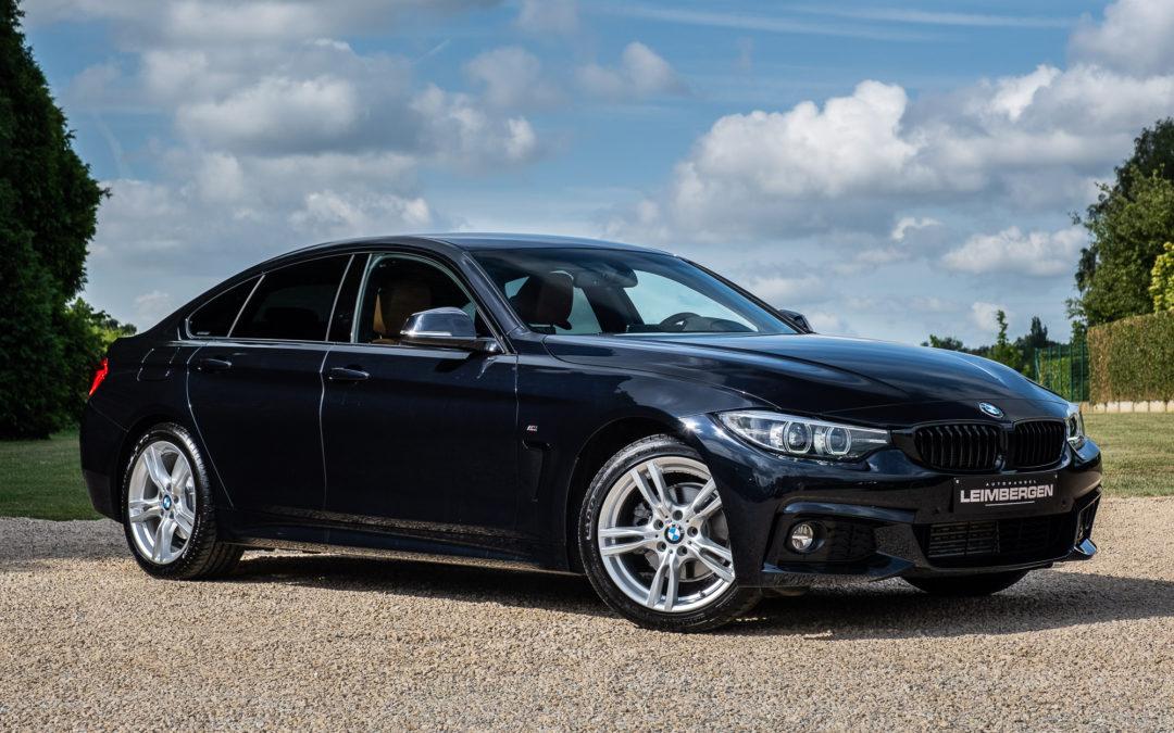 BMW 418D Gran Coupé M-Sportpakket Automaat Slechts 15.840 km – 1 Ste eigenaar!