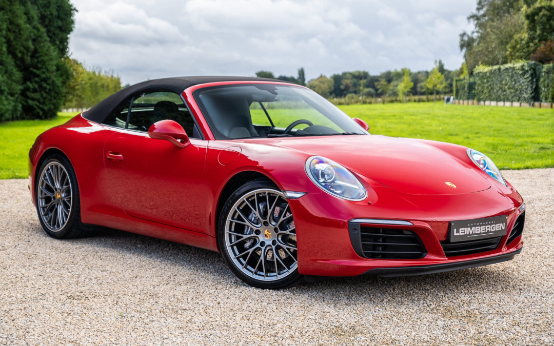Porsche 911 (type 991) Carrera 2 Cabriolet PDK – 1 Ste eigenaar – Slechts 33.150 km!