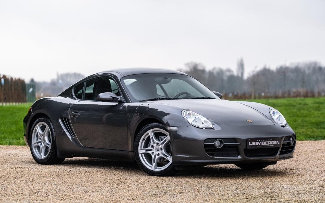 Porsche Cayman 2.7i – Slechts 45.651 km – MANUEEL -Perfecte staat!
