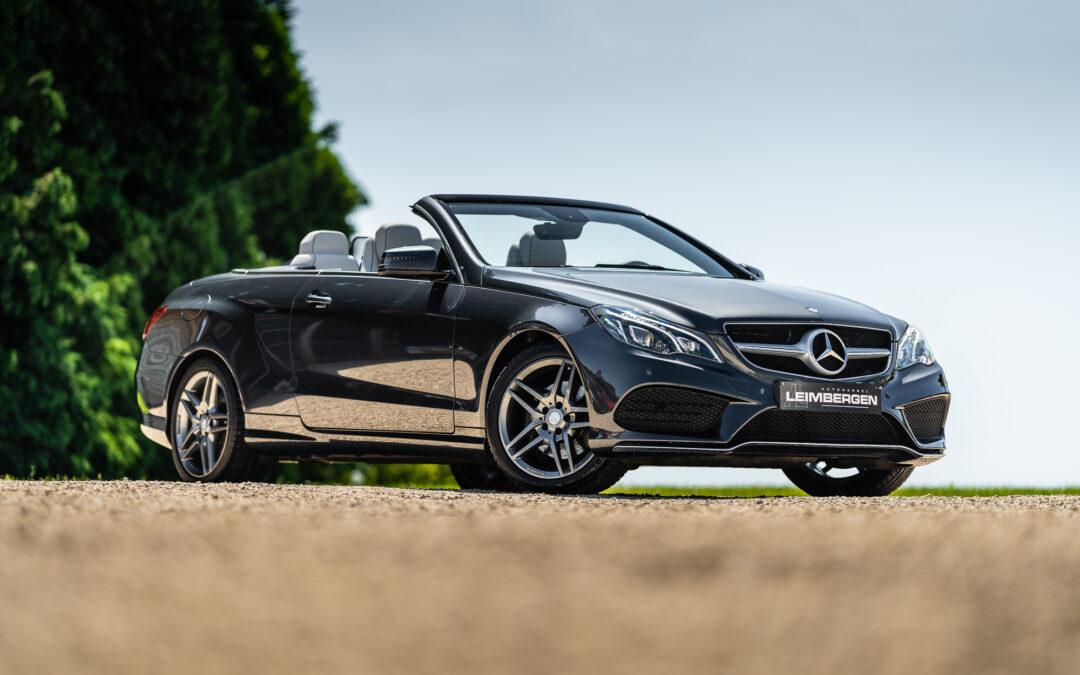 Mercedes E220 CDI Cabriolet/AMG Line/Slechts 55.551 km!
