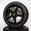 Porsche Cayman S 19″ velgen Zwart hoogglans