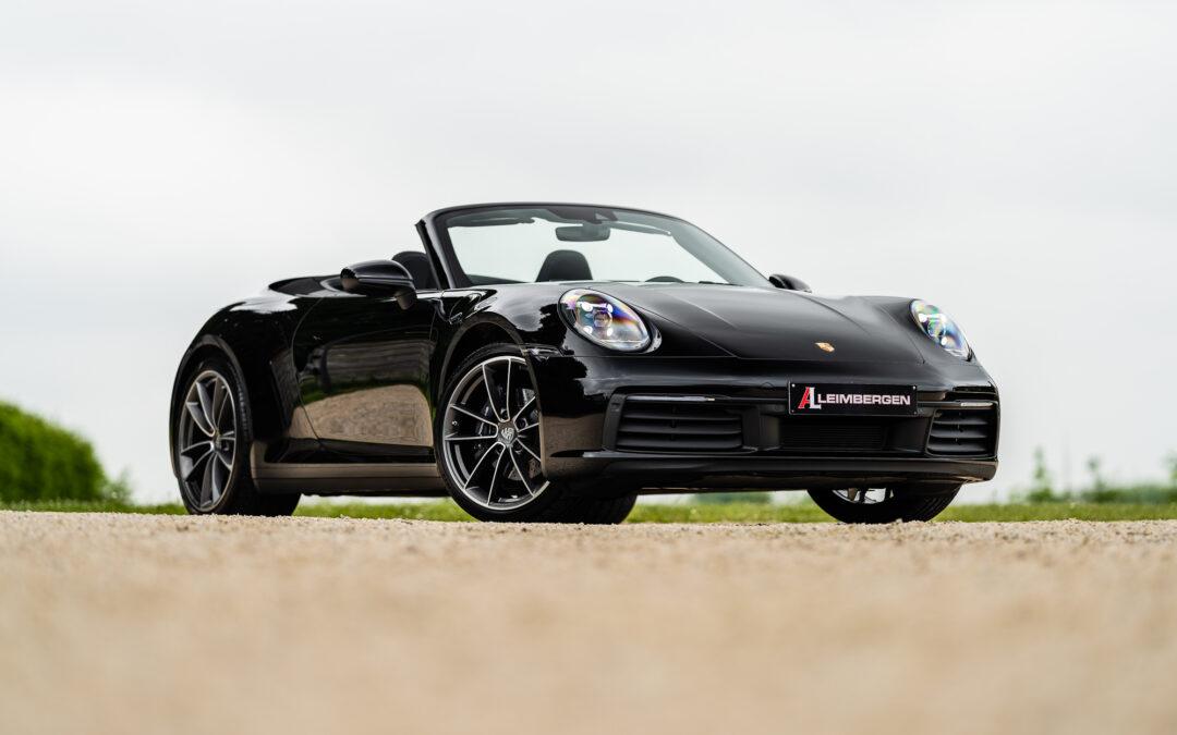 Sportuitlaatsysteem in het zwart / Stoelverwarming / Carrera Classic velgen / BOSE / Achteruitrijcamera